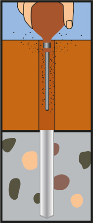 HECO Setzwerkzeug für MULTI-MONTI Betonschrauben TimberConnect Schwellenanker